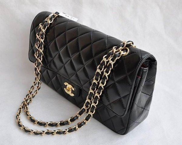 Qualität Art und Weise Herz Wellenmuster Satchel Schultertasche Kette Handtasche Luxus Umhängetasche Geldbeutel-Dame Einkaufstaschen