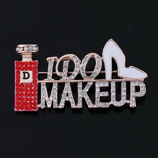 red make up