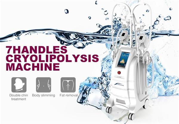 2019 nueva llegada adelgaza la máquina Cryolipolysis para cryo tratamiento barbilla doble y pérdida de peso la eliminación de grasa corporal scuplting fresco