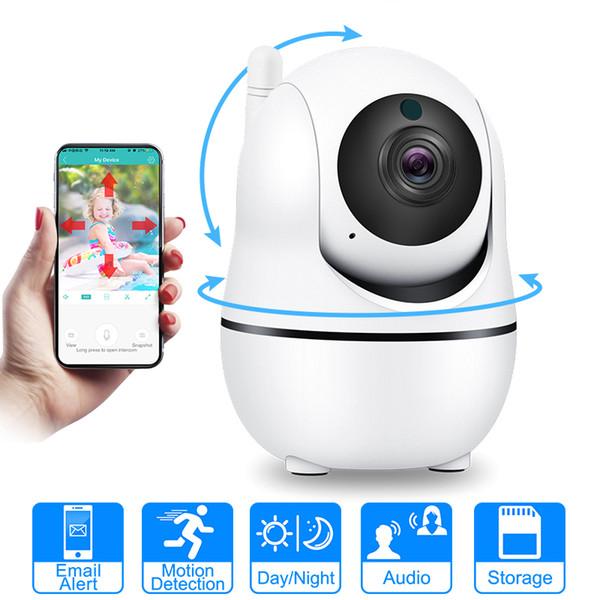 50 AutoTracking Câmera IP Wi-fi Mini Nuvem De Armazenamento Câmera de Detecção De Movimento Sem Fio Em Dois Sentidos de Áudio Em Casa Câmera de Segurança CCTV Rede Wifi Cam