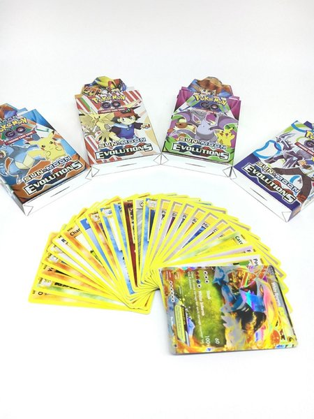 50set 25pcs/lot Trading Cards Games guess anime juguetes board games cards against muggles Anime Pocket Monsters poker fun card gamescospla