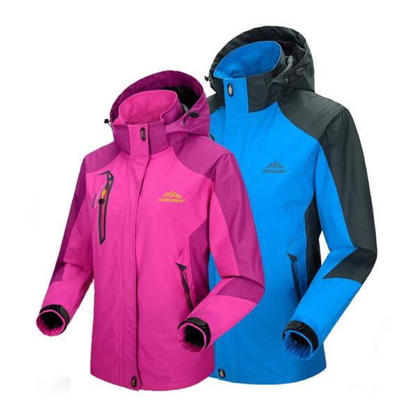 MAZEROUT Camping Mountain hiking fishing skiing climbing cycling trekking Outdoor Women Jacket waterproof