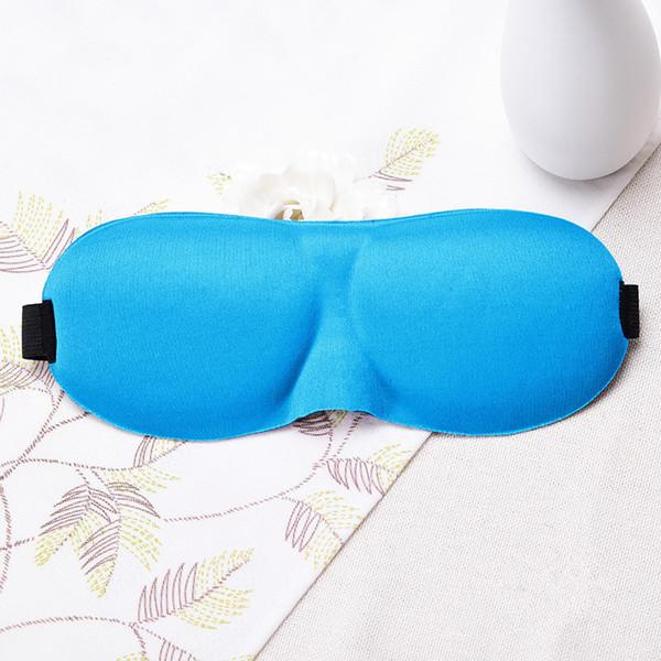 Fashion-DHL Freie 3D Schlafmaske Natürliche Schlafaugenmaske Eyeshade Cover Shade Augenklappe Augenbinde Reise Augenklappe Vision Care
