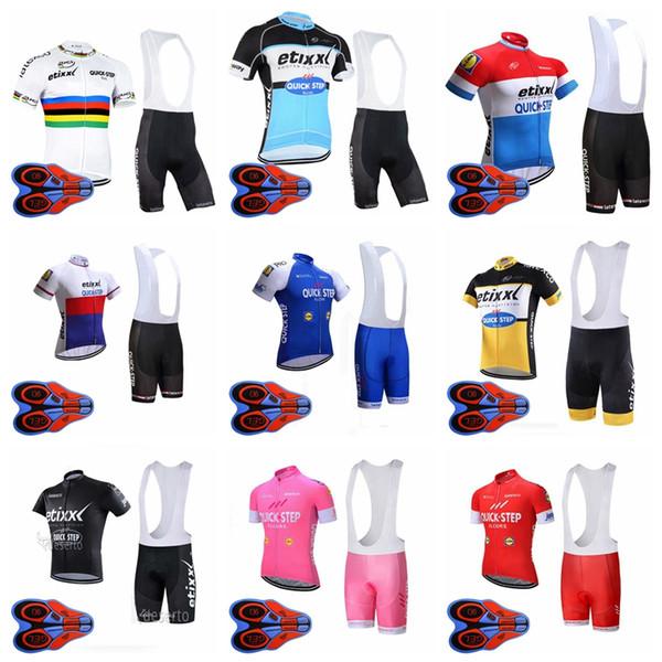 HıZLı ADıN ekibi erkekler kısa kollu önlüğü şort hızlı kuru açık spor forması setleri Bisiklet Kısa Kollu forması bib şort S82949 setleri
