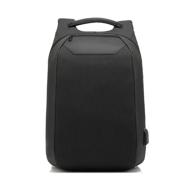 Usb Charging Business Backpacks Men Anti-theft Waterproof Laptop Schoolbags Male Backpack Large Capacity 15.6 Inch
