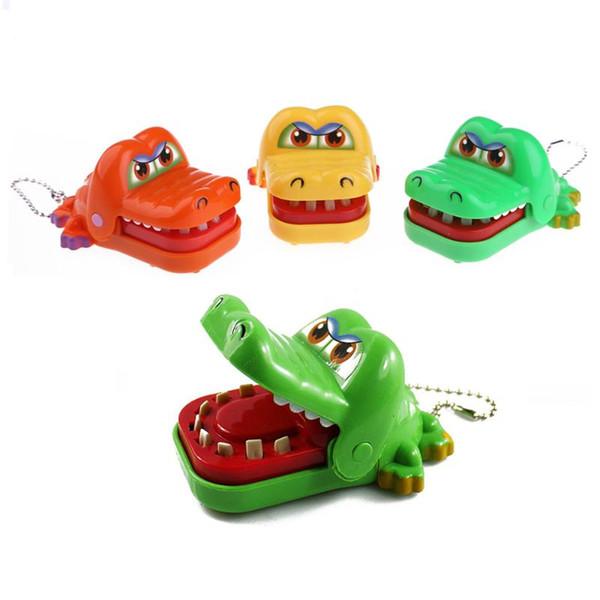 Gags baratos piadas Piadas Boca dentista mordida Dedo Jogo família das crianças Prank Joke Toy pequeno crocodilo dentista mordida Boca Brinquedos