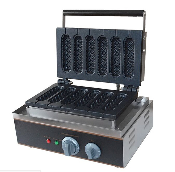 Free Shipping 6 PCS Lolly Hot Dog Waffle Makers Lolly Sticks come with Recipe