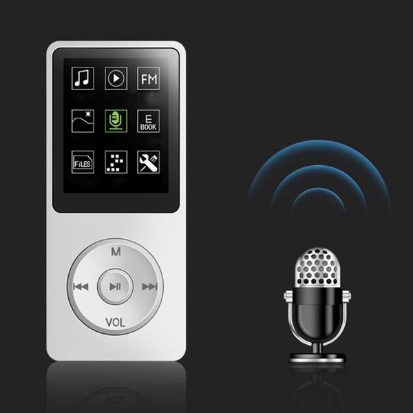 New Hot Portable Lecteur de musique MP3 MP4 avec écran de 1,8 pouces avec affichage 4 Go de support rechargeable Radio FM Image Navigation NV