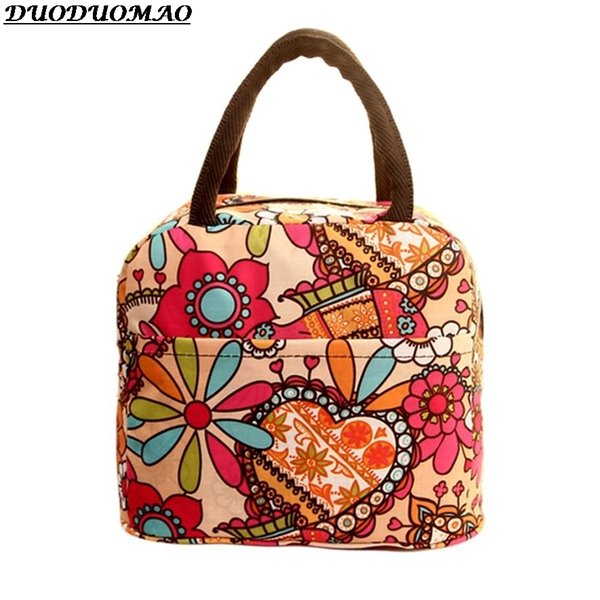 2018 New Food Picnic For Women Children Insulated Lunch Cooler Bolsa De Almuerzo Meal Bag Thermal C19021301