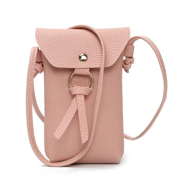 Fashion Simple Top-handle Bags Crossbody Messenger Shoulder Mobile Phone Hand Bag Messenger Leather For Ladies Small Square Bags