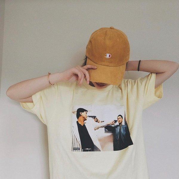 Mens Trust Tees Su Sommer Kurzarm Tops Männlichen Casual Stilvolle Tees Hommes Kleidung