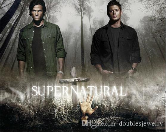 Best-selling European and American movies around the same section of the evil forces Supernatural Dean Amulet Necklace