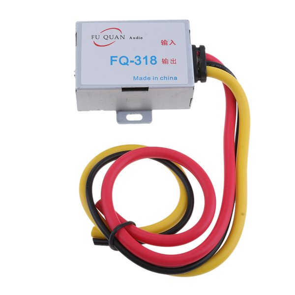 Car Audio Filtro soppressore dei rumori Reducer GPS unità principale DC 12V Per Dvd alluminio Shell Cavo di alimentazione
