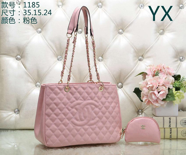Women' Handbag Classic Small Series Of Fashion Hot Mom Lady Chain Bag Elegant Bulk Corrugated Woman Leather Shoulder Purse Handbags Bag 66