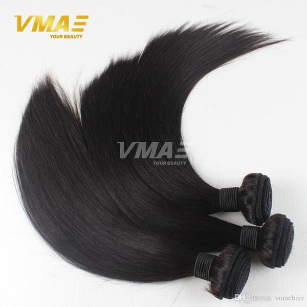 Thick Bundles Grace Brazilian Straight Hair Brazilian Virgin Hair Straight 3 Bundle Deals Silky Straight Human Hair Weave VMAE Products