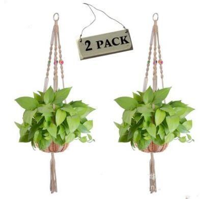 # 4 Hangers plantes