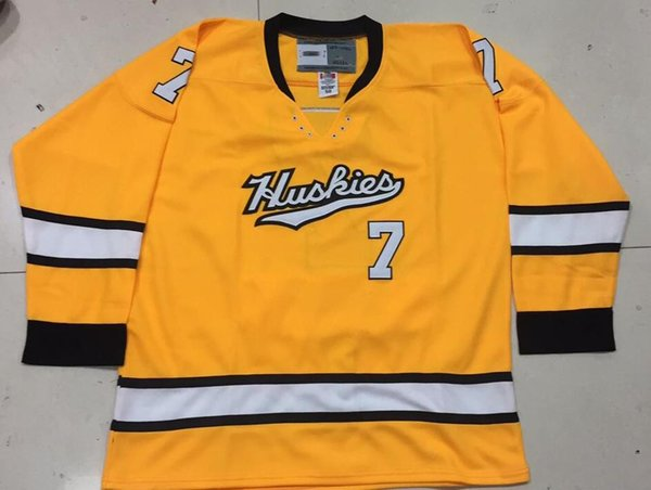 online store b5cd7 835bc 2019 Vintage Michigan Tech Huskies #21 BROWN ZUKE D'ALVISE Hockey Jersey  Embroidery Stitched Customize Any Number And Name Jerseys. From Luolong008,  ...