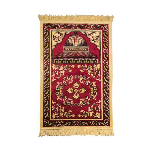 Leve e durável Decoração Home Quarto Prayer Mat muçulmana Ajuelhando Folding Artificial Cashmere Anti Slip Exquisite Prática