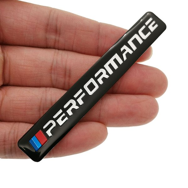Wholesale New Car Decal Logo Badge Auto Accessories Sticker M Power Performance For BMW M 1 3 4 5 6 7E Z X M3 M5 M6 Mline Emblem