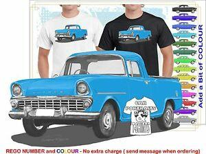 CLASSIC 61 62 EK HOLDEN UTE ILLUSTRATED T MUSCLE RETRO SPORT