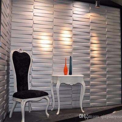 Soundproof and noise-proof flame retardant 3d plant fiber wall panels home decoration