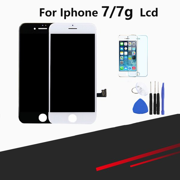 LCD For iphone 7 Touch Digitizer Replacement Screen Assembly For iphone 7 With Tool Kits Screen Protector