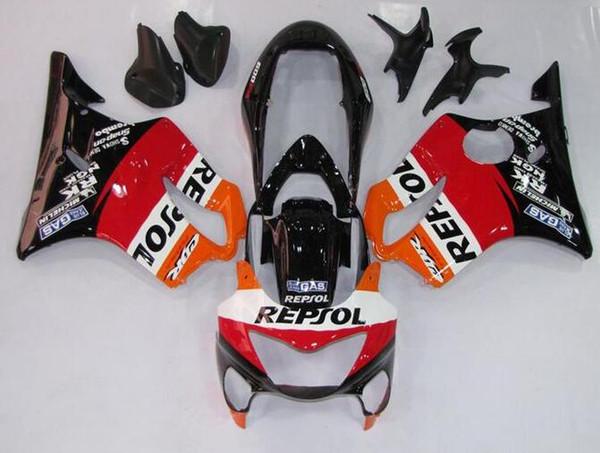 Nuevos kits de carenados de bicicleta ABS de inyección para HONDA CBR600F4 99-00 CBR 600 F4 FS CBR600FS CBR 600F4 F4 99 00 1999 2000 buen repsol
