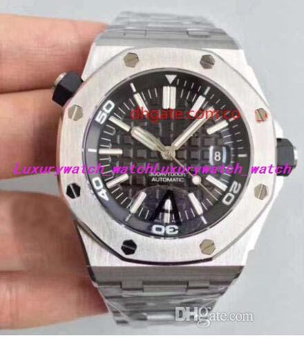 Luxury Watch Best Quality Watch 42mm Diver 300M 15710 15703 15710ST.OO.A002CA.01 Swi ss CAL.3120 Movement Automatic Mens Watches