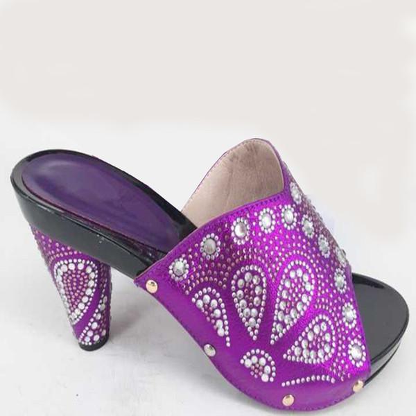 2018 Lady Zapatos Para Tacones Verano Mujeres Con Compre Color New Altos Púrpura De Italian Mujer Sandalias Vestir XOulwkPZiT