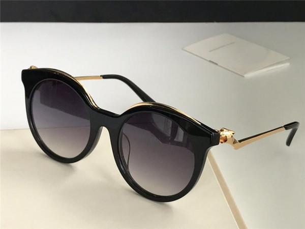 Новые модельер солнцезащитные очки 0118 очаровательные кошачьи глаза маленький леопардовая рамка головы ретро авангардный стиль моды высокое качество оптом