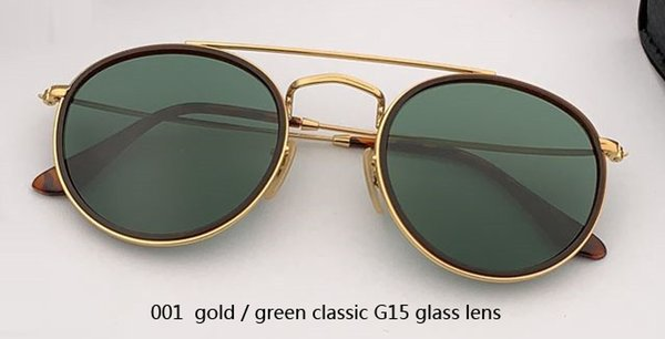001 gold/G15 glass lens
