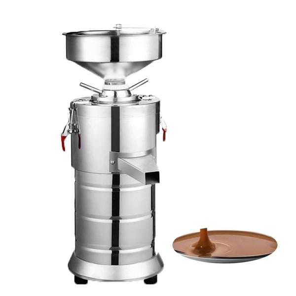 BEIJAMEI 15kgs / h pequeña mantequilla de maní molino de mantequilla de sésamo máquina comercial precio de la máquina de fabricación de leche de soja