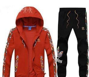 top popular 2019New Men's Hoodies and Sweatshirts Sportswear Man Polo Jacket pants Jogging Jogger Sets Turtleneck Sports Tracksuits Sweat Suits 2019