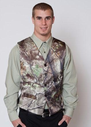 2019 camo printed groom vests wedding vests realtree spring camouflage slim fit mens vests custom made plus size thumbnail