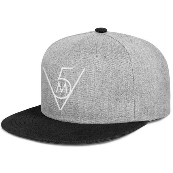 Maroon 5 Rock band Adam Levine black for men and women snap back,flat brimcap baseball design custom customize vintage hats