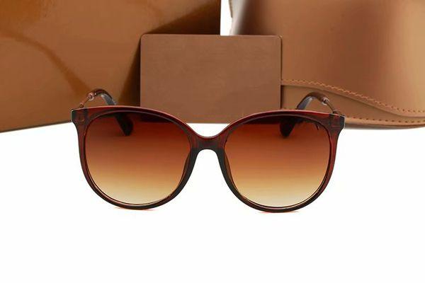 Lunettes de soleil en gros-lunettes de soleil pour hommes à la mode protection uv rétro étui à lunettes de soleil féminin de marque.