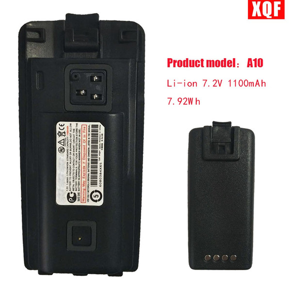 Bateria do Li-íon 7.2V 1100mAh 7.92Wh de XQF para o rádio de Motorola A10