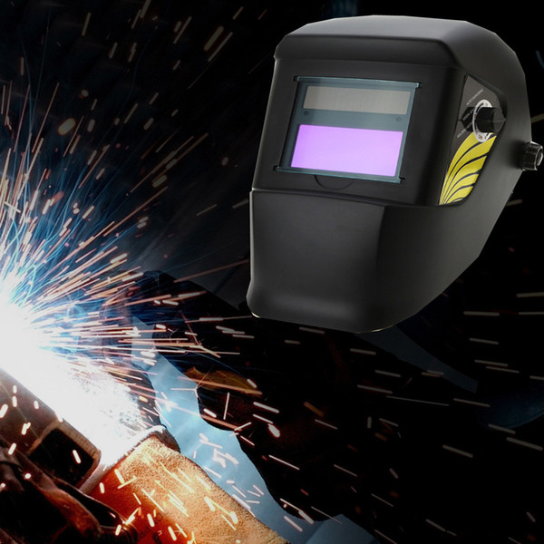 Pro Solar Auto Darkening Welding Helmet Arc Tig Mig Mask Grinding Welder Soldering Helmet Lithium Batteries Party Masks