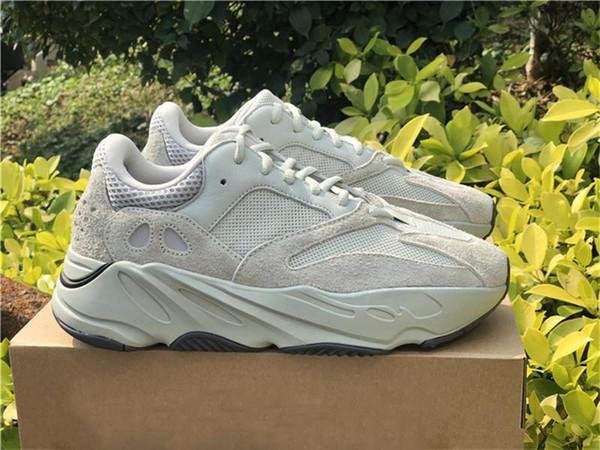 2019 más nuevos auténticos 700 V2 Sal Eg7487 zapatos de Kanye West Hombre Mujeres al aire libre moto acuática malva estáticas inercia Geode zapatillas de deporte con la caja