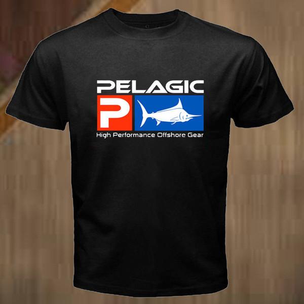 T-shirt a maniche corte T-shirt unisex pesca pesca con nuovo pelagico Divertente spedizione gratuita Maglietta unisex