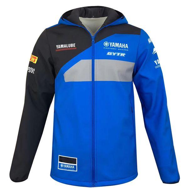 Nueva llegada para yamaha motocross Sudaderas Deportes al aire libre Chaqueta Softshell motocicletas chaquetas de carreras Con cremallera Mantener caliente