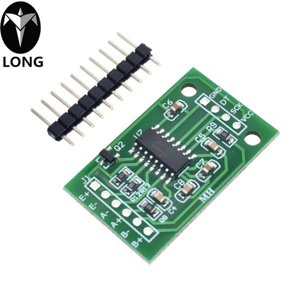 Sensor de presión de pesaje de doble canal HX711 Módulo de precisión A / D de 24 bits para báscula electrónica DIY Arduino