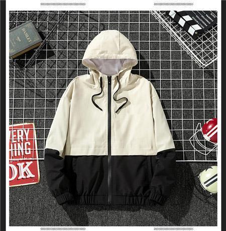 Новая весна осень осень марка мужские куртки Woemens мода повседневная с длинным рукавом блузка топы S-2XL 2 цвета высокого качества куртки QSL198297