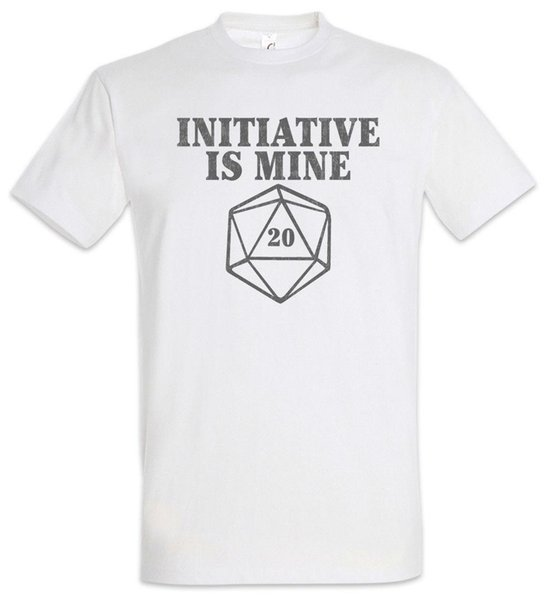 Intiative Is Mine T Shirt Pen & Paper RPG Roleplay Role Play MMORPG Larp  Fun Men Short Sleeve T Shirt Casual Man Tees Mens Tops Joke T Shirt Coolest