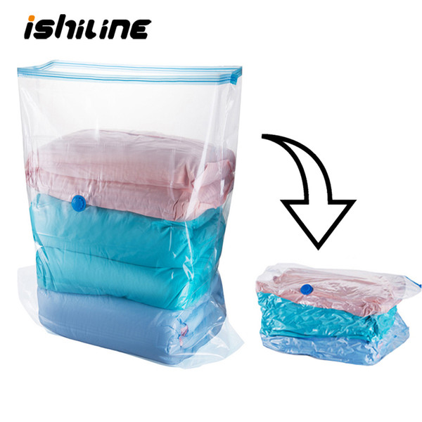 1pc Vacuum Bags for Clothes Extra Large Seal Compressed Travel Vacuum Bag Quilt Pillow Storage Bag Wardrobe Packing Organizer