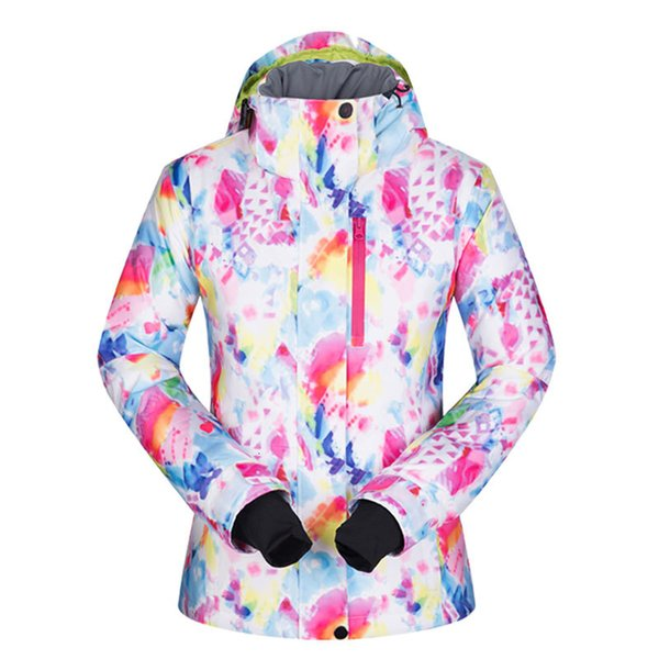 winter ski jackets women windproof waterproof warmth female coat snow camping skiing and snowboard jacket brand
