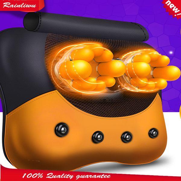 5d massaggio cuscino vertebra cervicale strumento di massaggio collo girovita schiena dispositivo di massaggio 5d testa assistenza sanitaria maestro SH190727