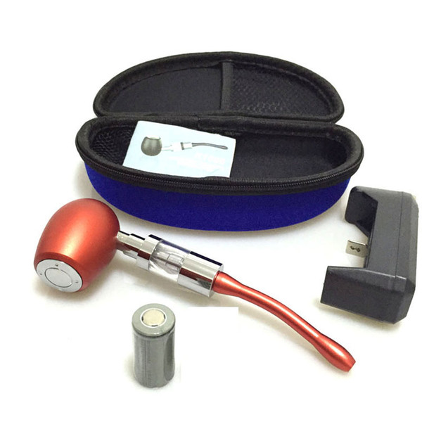 k1000 E pipe vape mod starter kit with dual coils glass pipe k1000 atomizer tank vaporizer vape pen for e liquid vaporizer ego