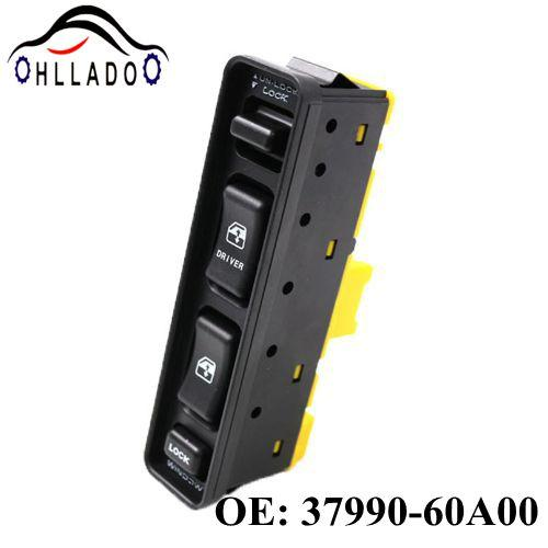 top popular HLLADO New Front Driver and Passenger Side 37990-60A00 3799060A00 Electric Controller Window Switch For Suzuki Vitara 1999-2004 2021