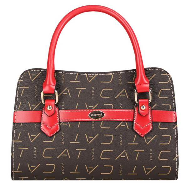 navy cat shoulder messenger bags for women 2020 pvc leather letter print crossbody bag fashion female mini bags